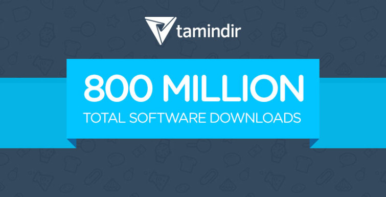 Tamindir Achieved 800 Million Total  Downloads