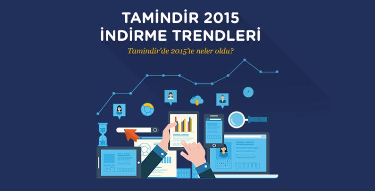 Tamindir 2015 Türkiye İndirme Trendleri Raporunu Yayınladı